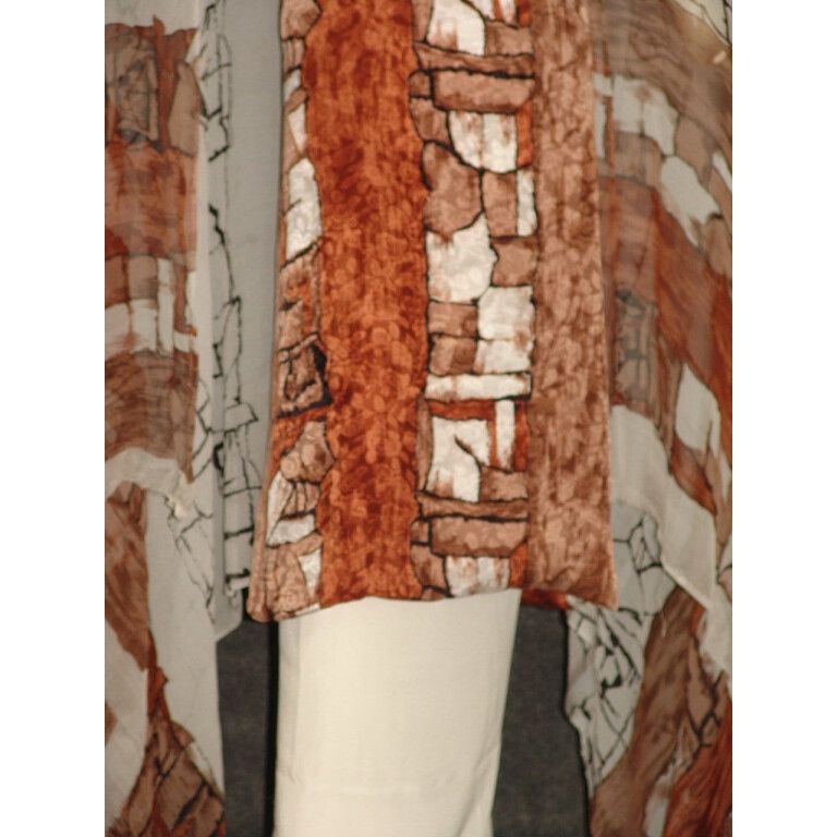 Pure Crepe Printed Suit with Pure Chiffon Dupatta Chunni  PS015
