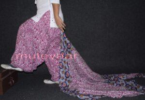 100% Pure Cotton FULL Patiala Salwar + matching cotton printed dupatta PSD129