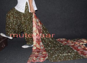 100% Pure Cotton FULL Patiala Salwar + matching cotton printed dupatta PSD131