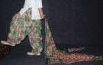 100% Pure Cotton FULL Patiala Salwar + matching cotton printed dupatta PSD140