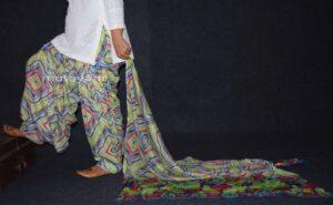 100% Pure Cotton FULL Patiala Salwar + matching cotton printed dupatta PSD141