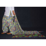 100% Pure Cotton FULL Patiala Salwar + matching cotton printed dupatta PSD141