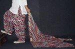 100% Pure Cotton FULL Patiala Salwar + matching cotton printed dupatta PSD148