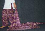 100% Pure Cotton FULL Patiala Salwar + matching cotton printed dupatta PSD158