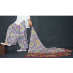 100% Pure Cotton FULL Patiala Salwar + matching cotton printed dupatta PSD165