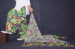 100% Pure Cotton FULL Patiala Salwar + matching cotton printed dupatta PSD167