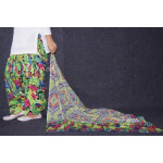 100% Pure Cotton FULL Patiala Salwar + matching cotton printed dupatta PSD167