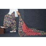 100% Pure Cotton FULL Patiala Salwar + matching cotton printed dupatta PSD170