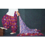 100% Pure Cotton FULL Patiala Salwar + matching cotton printed dupatta PSD171