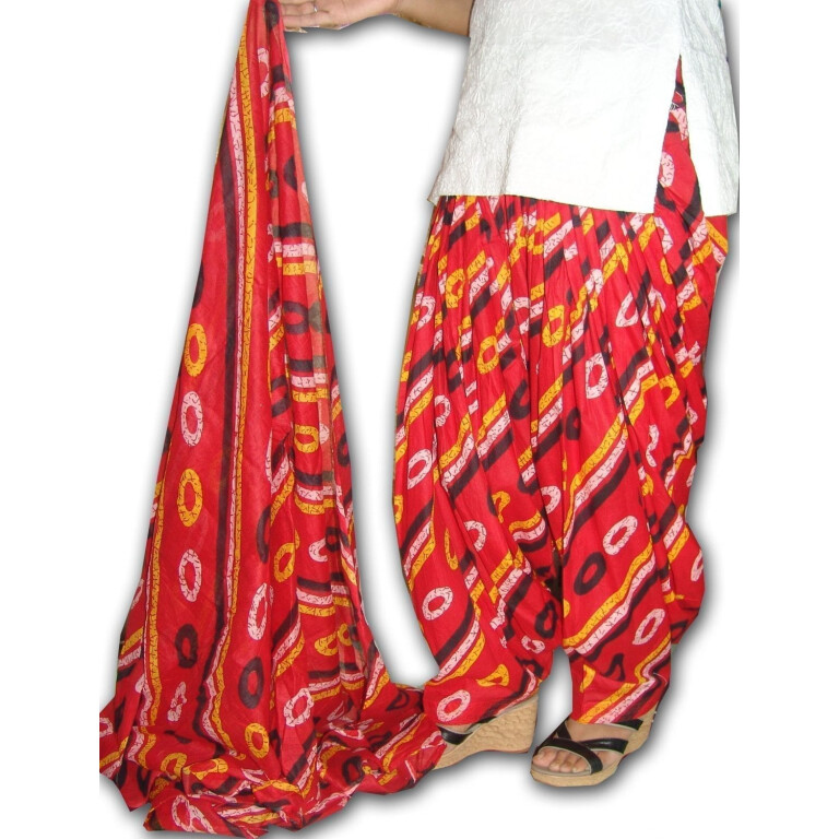 100% Pure Cotton FULL Patiala Salwar + 2.5 meter dupatta PSD49