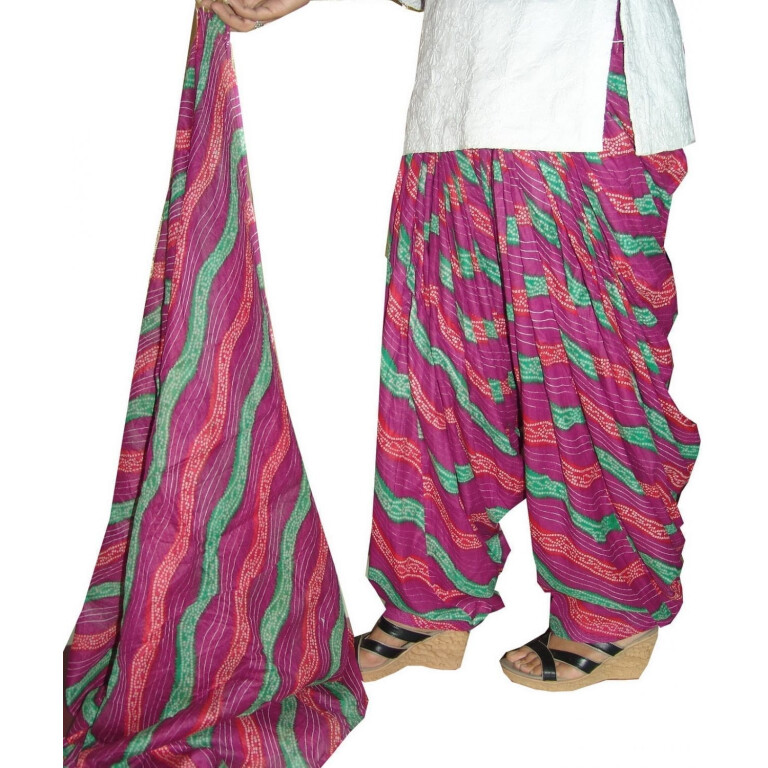 100% Pure Cotton FULL Patiala Salwar + 2.5 meter dupatta PSD56