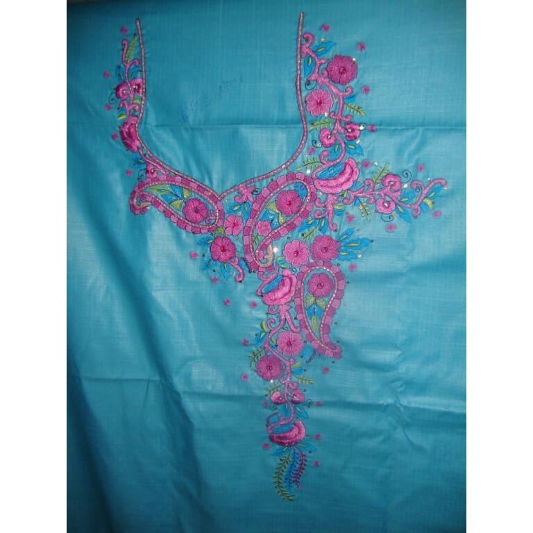 Front / Back EMBROIDERED Salwar Suit set sequins RM042