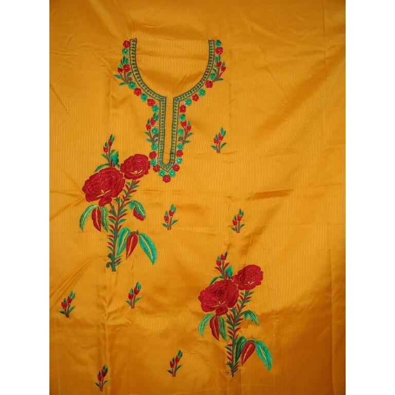 FULL PATIALA 100% cotton Salwar Suit PURE CHIFFON Dupatta RM154