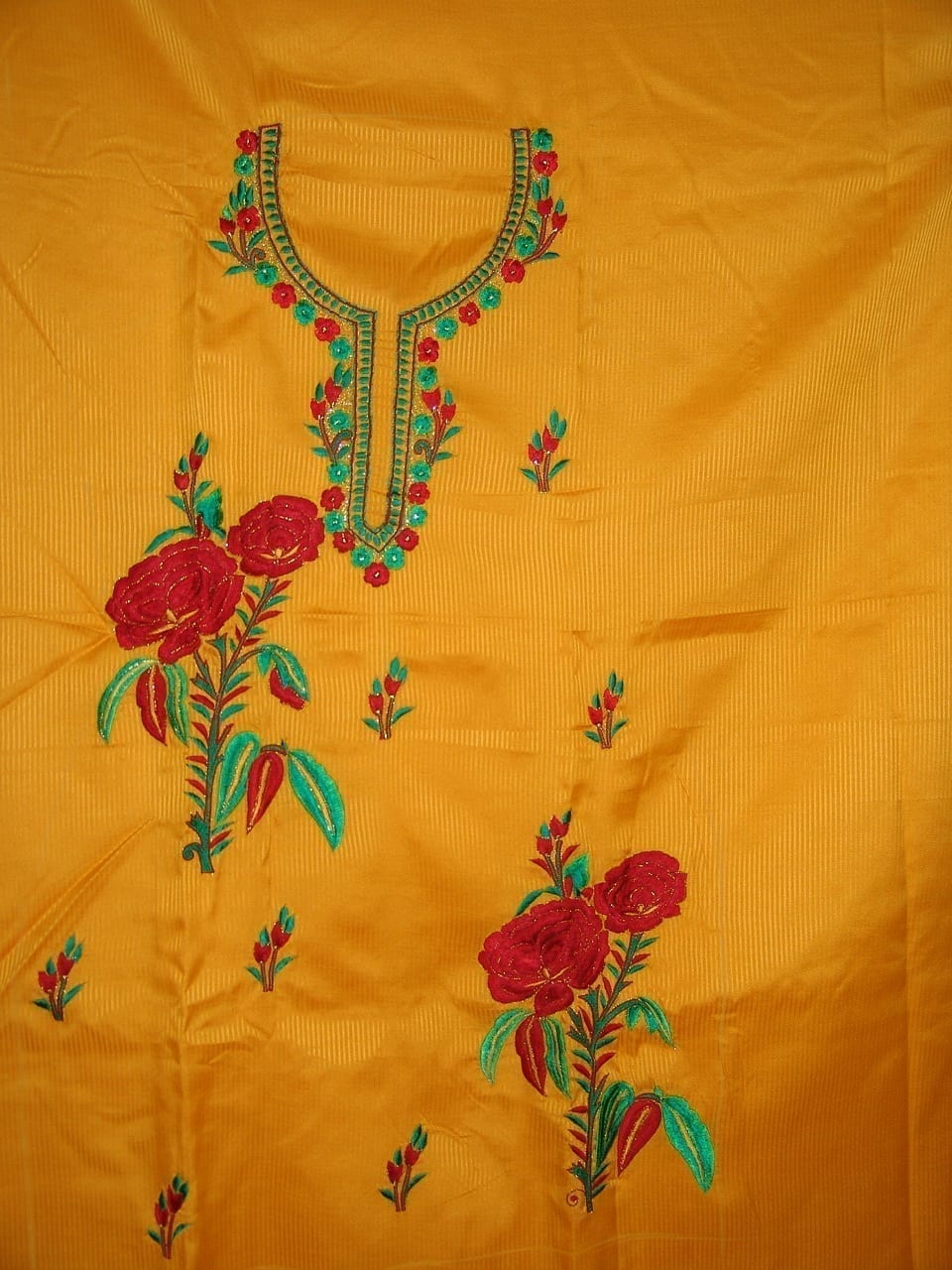 FULL PATIALA 100% cotton Salwar Suit PURE CHIFFON Dupatta RM154 3