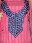 Self Print Pure Cotton embr Salwar Suit Chiffon Dupatta RM173