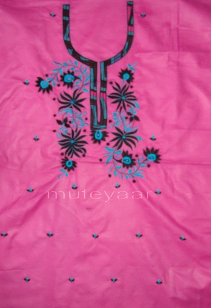 Pure Cotton FULL Patiala Salwar embr  Suit Cotton Dupatta RM194 3