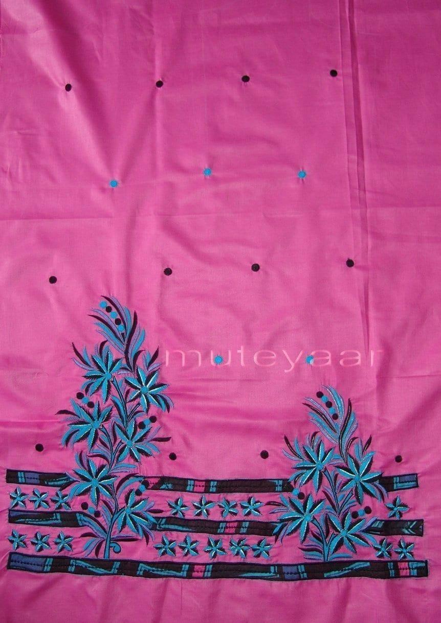Pure Cotton FULL Patiala Salwar embr  Suit Cotton Dupatta RM197 3