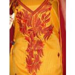 Pure Cotton Embroidered Salwar Suit PURE CHIFFON Dupatta RM199