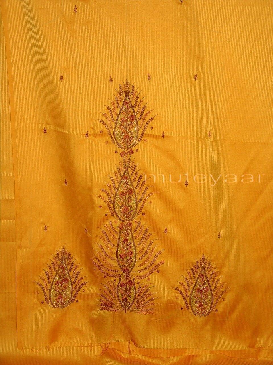 Pure Cotton Embroidered Salwar Suit PURE CHIFFON Dupatta RM217 3