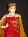 FULL PATIALA 100% cotton Salwar Suit PURE CHIFFON Dupatta RM235