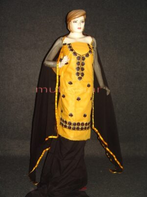 FULL PATIALA 100% cotton Salwar Suit PURE CHIFFON Dupatta RM236