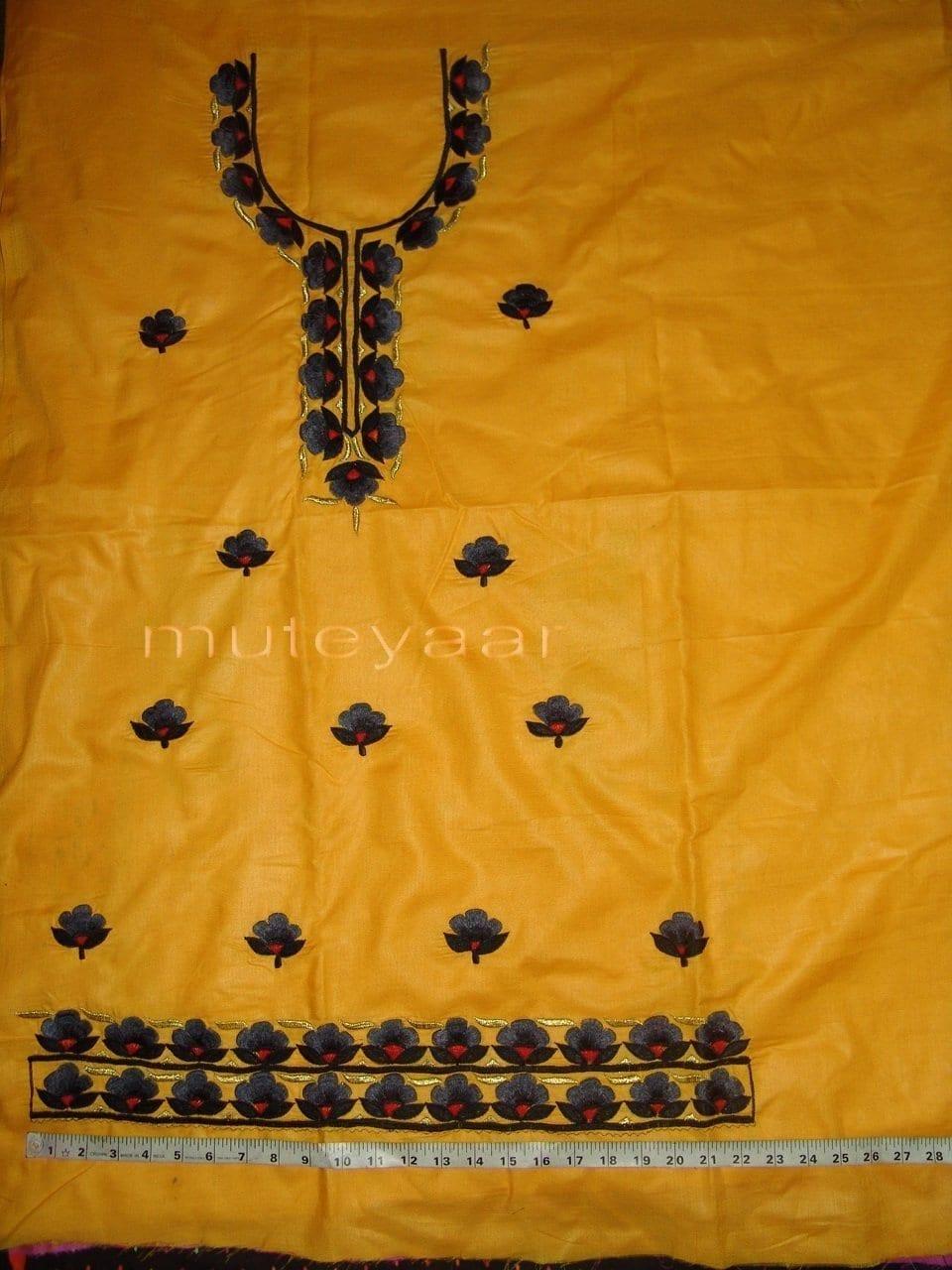 FULL PATIALA 100% cotton Salwar Suit PURE CHIFFON Dupatta RM236 3