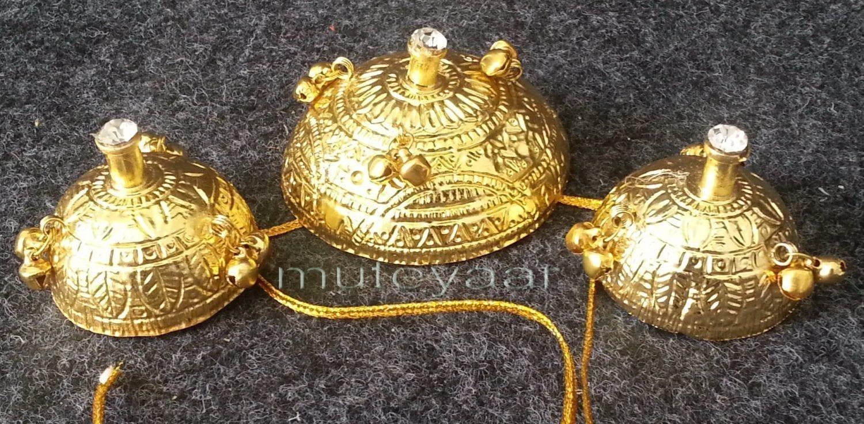 GIDDHA jewellery - GOLD PLATED SAGGI PHULL !! 2