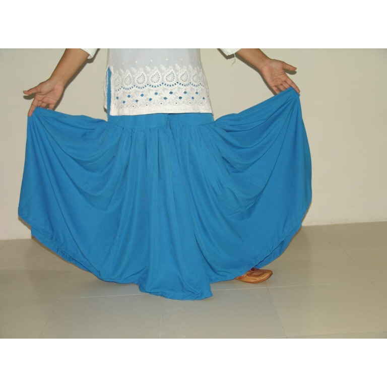 SHARARA with Full Flares - all colours available , custom stitched Bottom