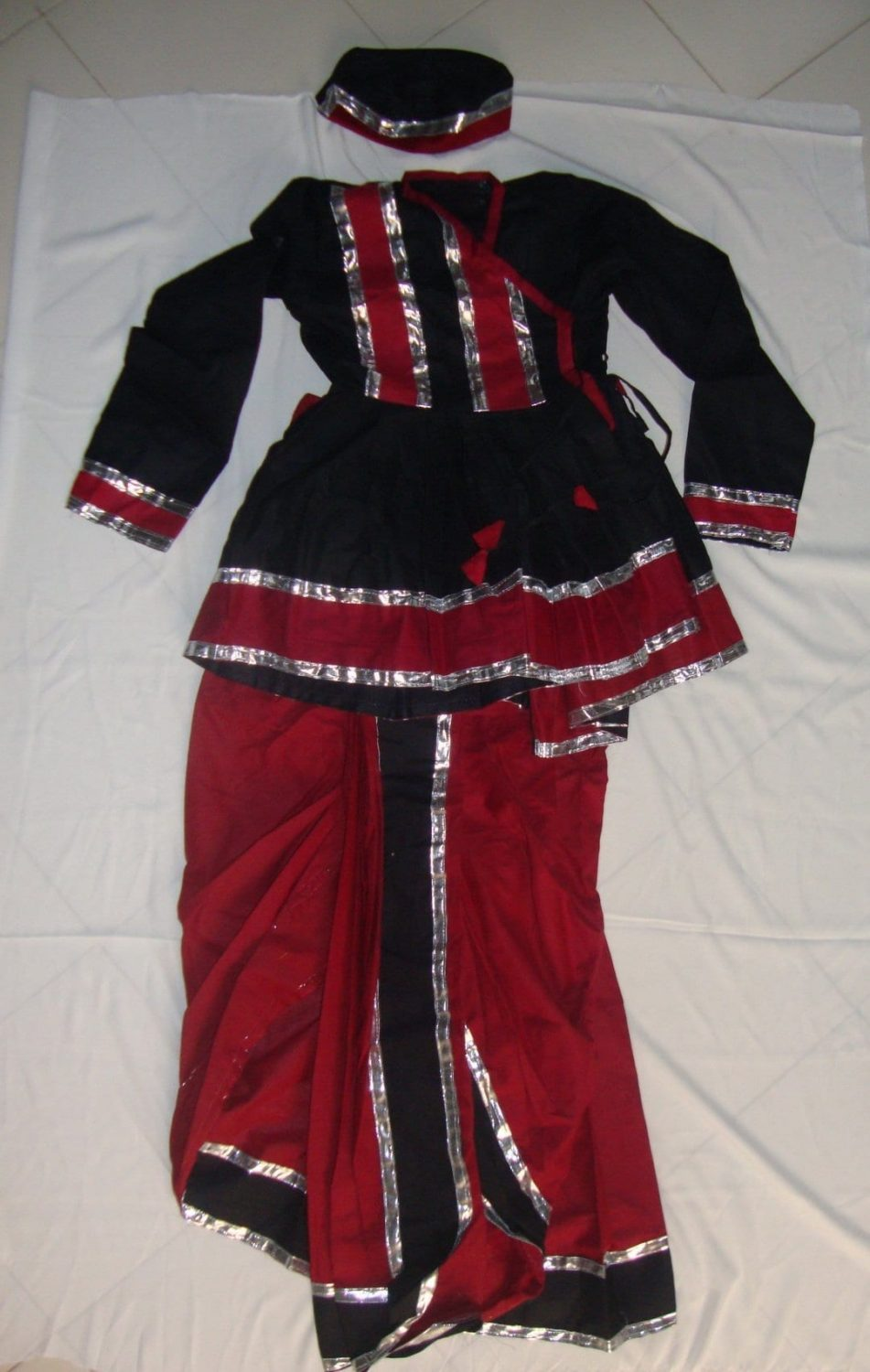 Custom made Gujarati Dandiya dance Costume / outfit dress 1