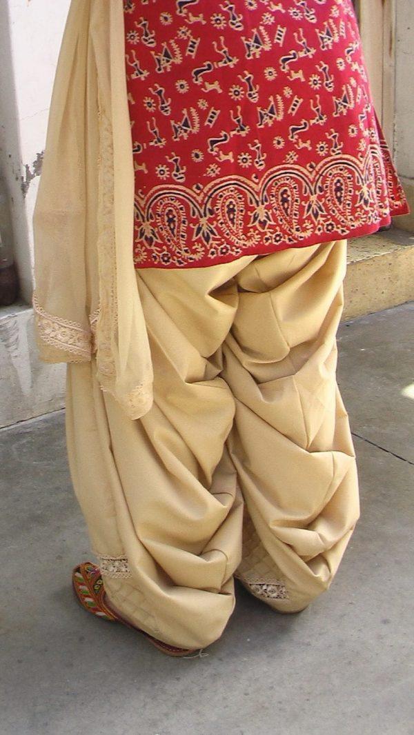 Custom Made Pintex Barfi Lace Work Patiala Salwar + Dupatta set