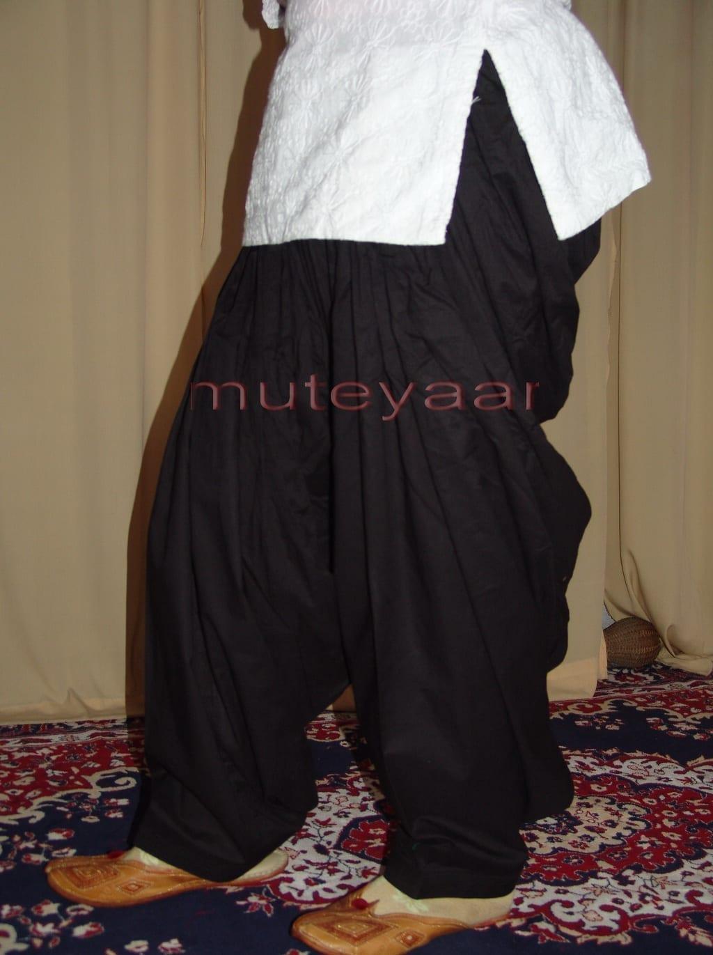 Patiala Salwars Wholesale Lot of 25 Pure Cotton Pants - Mix colours 6