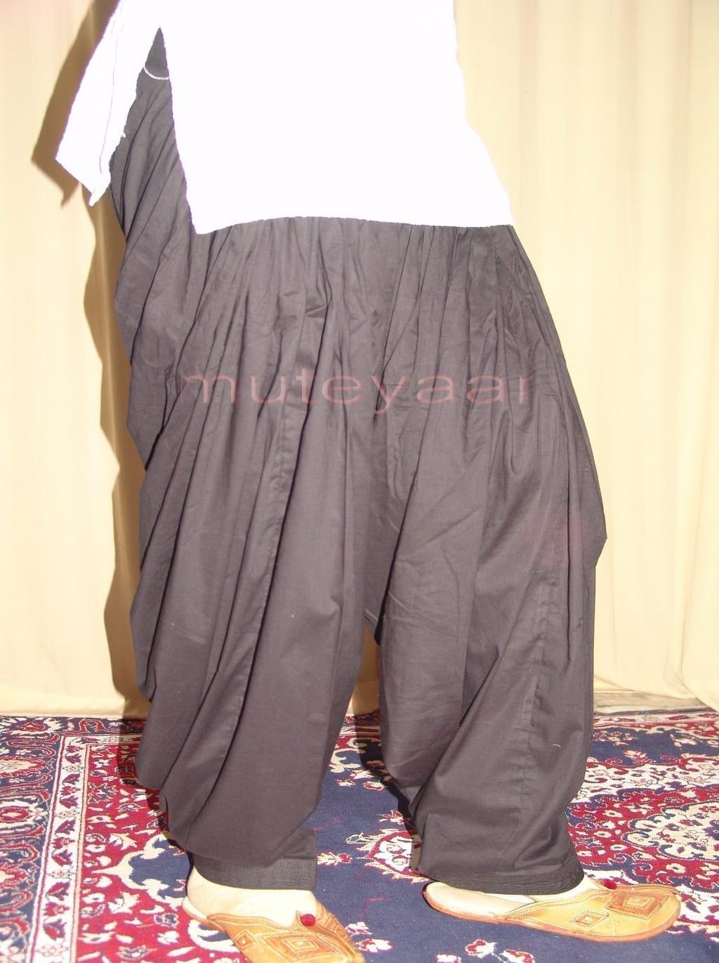 Patiala Salwars Wholesale Lot of 25 Pure Cotton Pants - Mix colours 7