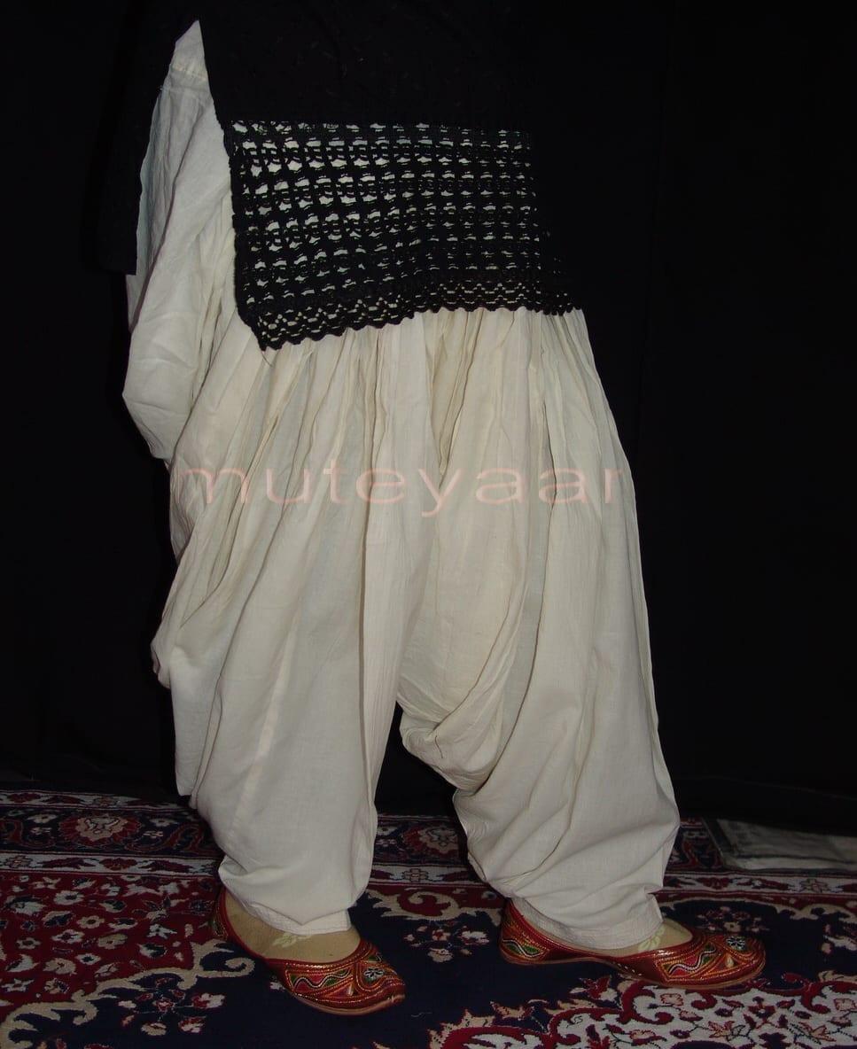 Patiala Salwars Wholesale Lot of 25 Pure Cotton Pants - Mix colours 13