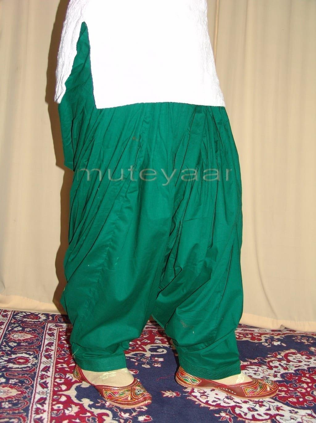 Patiala Salwars Wholesale Lot of 25 Pure Cotton Pants - Mix colours 16