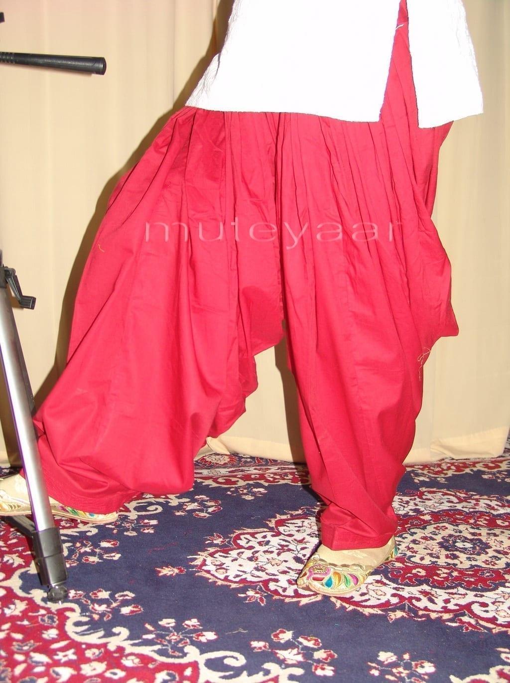 Patiala Salwars Wholesale Lot of 25 Pure Cotton Pants - Mix colours 21
