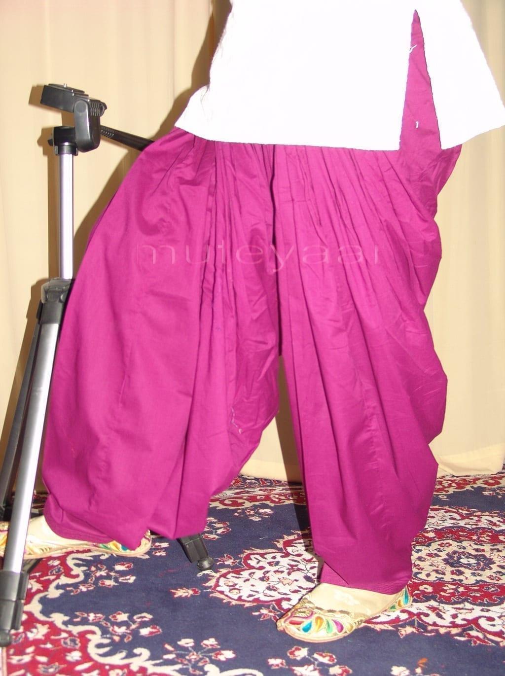 Patiala Salwars Wholesale Lot of 25 Pure Cotton Pants - Mix colours 27