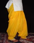100% PURE COTTON YELLOW PATIALA PANTS from Patiala city !!
