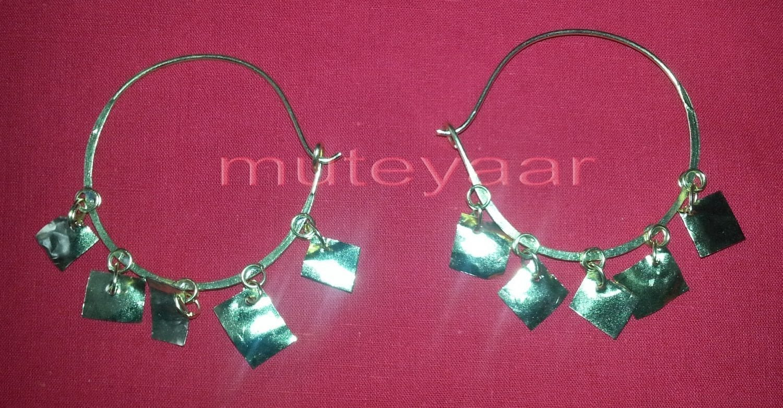 Pipal Patti Handicraft jewelery earrings set for giddha bhangra 2