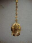 Golden Tikka Tika jewellery for giddha and bhangra