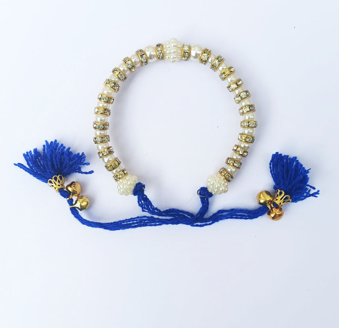 Blue Decorative Wristband Pack of 12 Pieces GN007 1