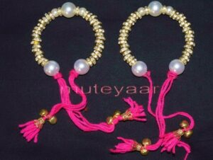 Ladies Sangeet Wedding Time Decorative GANA Wrist Band J0124