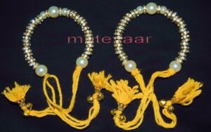 Ladies Sangeet Wedding Time Decorative GANA Wrist Band J0125