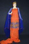 Designer Embroidery 100% cotton Salwar Suit PURE CHIFFON Dupatta RM306