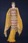WHOLESALE LOT of 10 JAAL PHULKARI Salwar Kameez Dupatta Suits