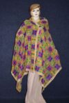 PUNJABI PHULKARI JAAL M/C Embroidered Partywear Faux Chiffon Dupatta D0818