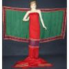 Glazed Cotton Hand Embroidered Salwar kameez suit CHINON DUPATTA set F0661