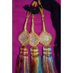 Traditional Punjabi Ethnic Colorful Paranda parandi with Zircons embelishment