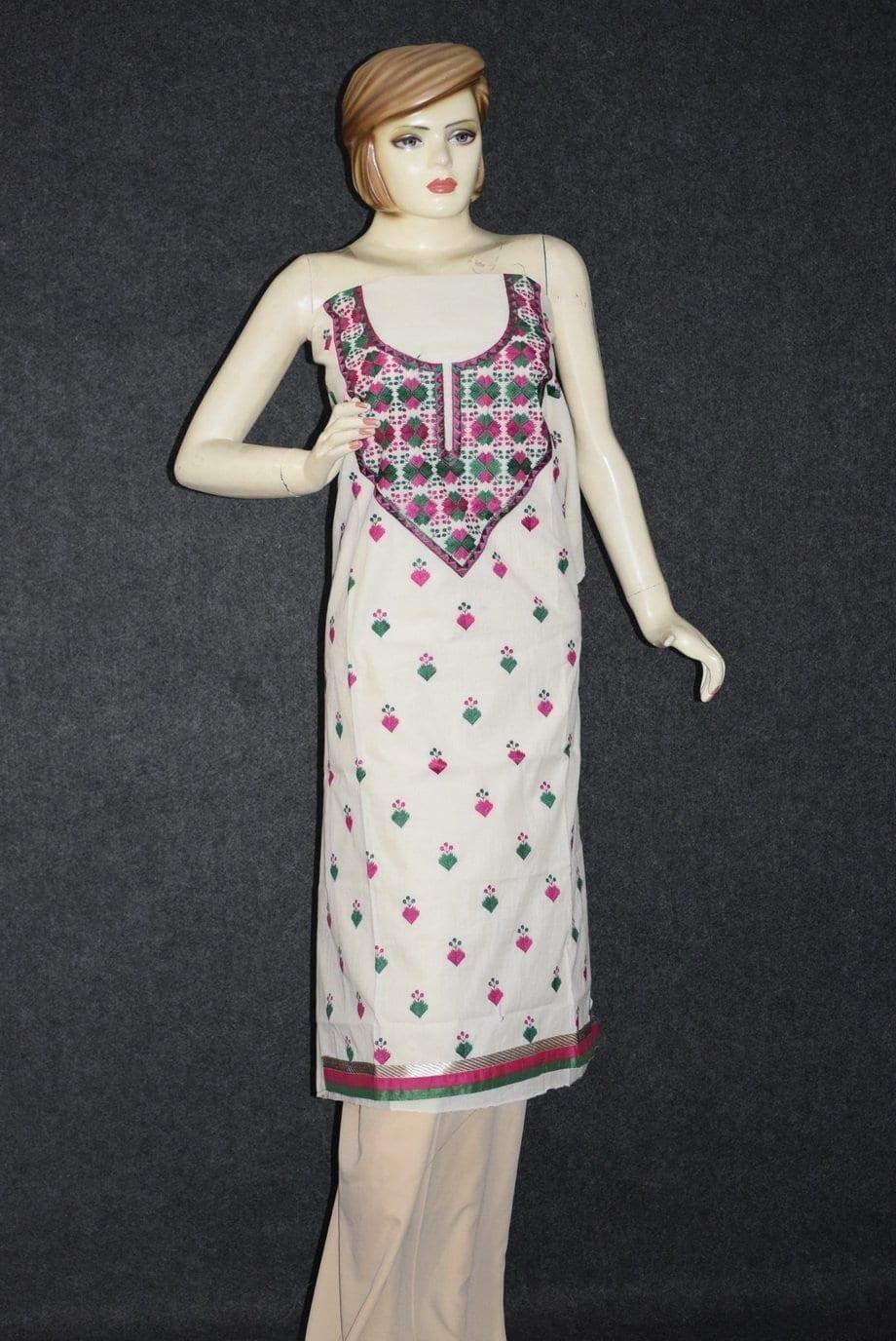 Cotton Embroidered Kurti K0364 1