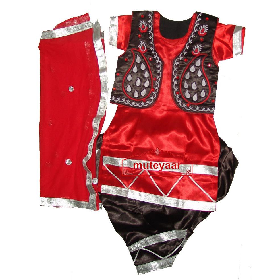 Girl's Bhangra Costume outfit dance dress - custom made !! 1