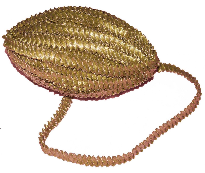 Antique Golden Champa Gota Lace Kinari Border LC086 1